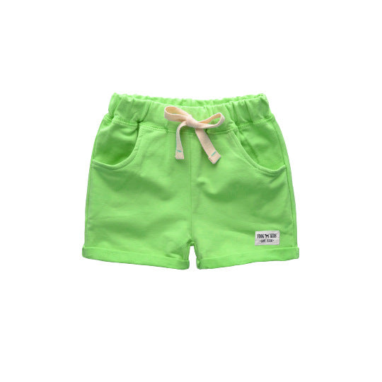 VIDMID baby boys shorts trousers for boy girls shorts children's cotton sports boys beach shorts kids boys short pants 1001