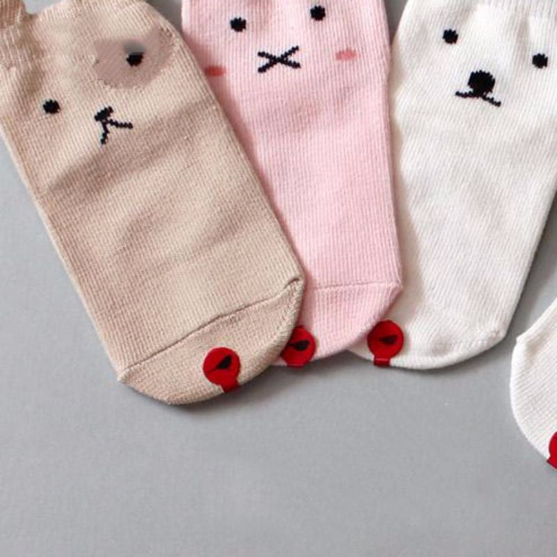 Boys Kids Socks Infant Baby Girls Anti-Slip Winter Socks Children Warm Soft Cute Cotton Animal Pattern Socks