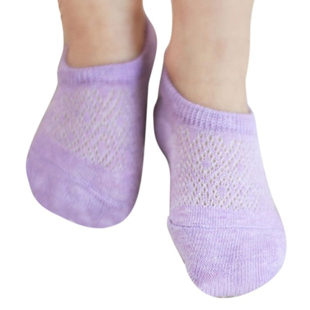 Toddler Newborn Cotton Ankle Socks Baby Girls Mesh Hollow out Socks Breathable Soft Kids