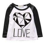 New Style Girls Boy Clothes Kids Shirt Long Sleeve Tops Casual Children Floral Cotton Clothes