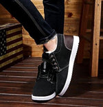 Ankle boots for men boots waterproof short plush warm shoes flat with snow boots suede 39-44 winter boots
