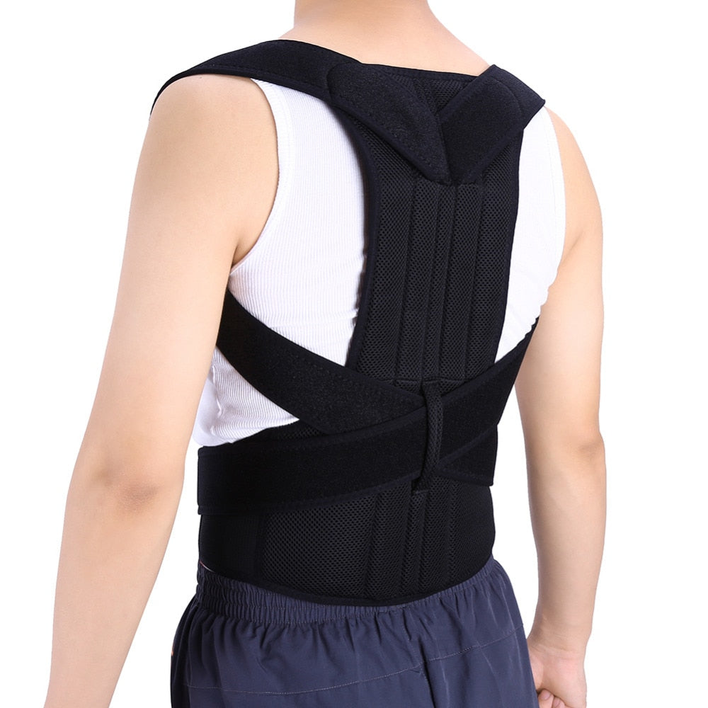 Adjustable Back Posture Corrector Support Brace