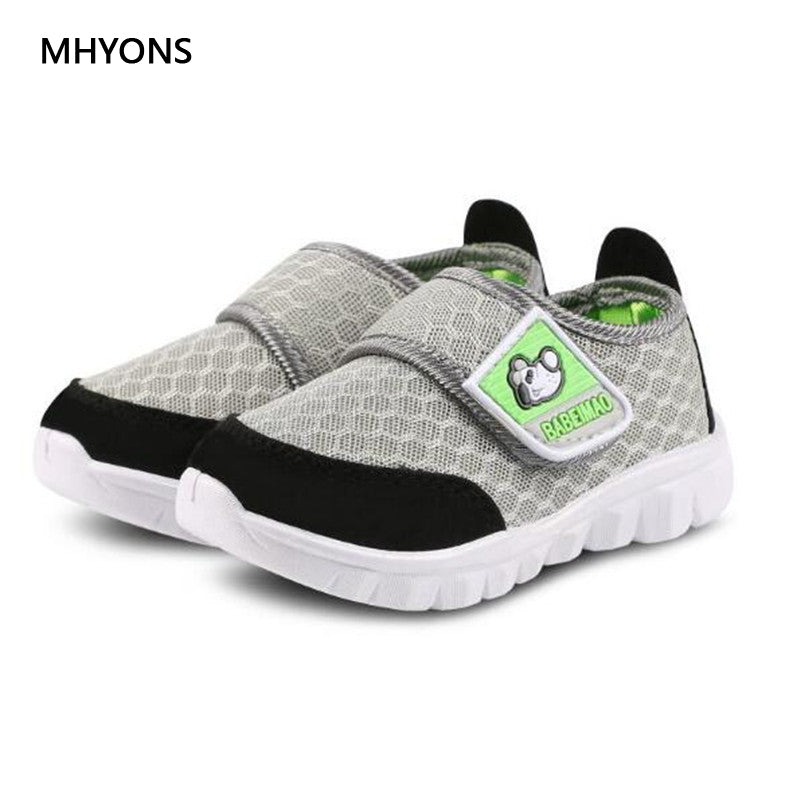 MHYONS Brand Children Casual Shoes Boy and Girl's Sneakers Fashion Kid Mesh Breathable Sport Shoes Chaussure