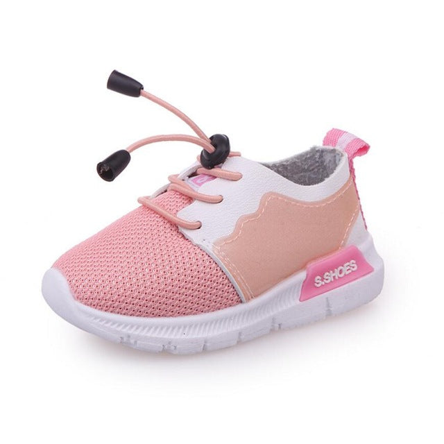 Spring Autumn Children Shoes Female Baby Toddler Shoes Boys Girls Sports Shoe Sneakers Kids Size 21-25