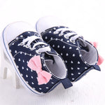 Newborn Baby Boys Girls Fashion Casual Baby Girl Canvas Shoe Heart shape Shoes Sneaker Anti-slip Soft Sole Toddler
