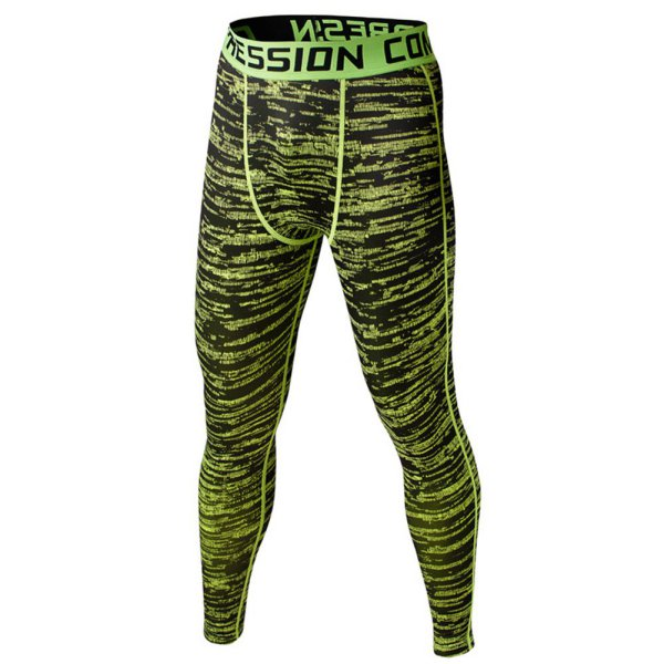 Camo Mens Compression Pants Leggings Base Layer Casual Quick Dry Fitness LegginsTrousers Tights pantalones chandal hombre