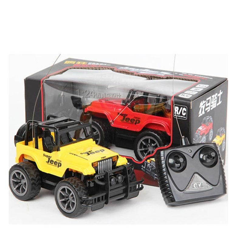 Remote Control 4CH Super Jeep