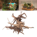 Aquarium Decoration Wood Natural Trunk Driftwood Tree Aquarium Fish Tank Plant Stump Ornament Landscap Decor W212