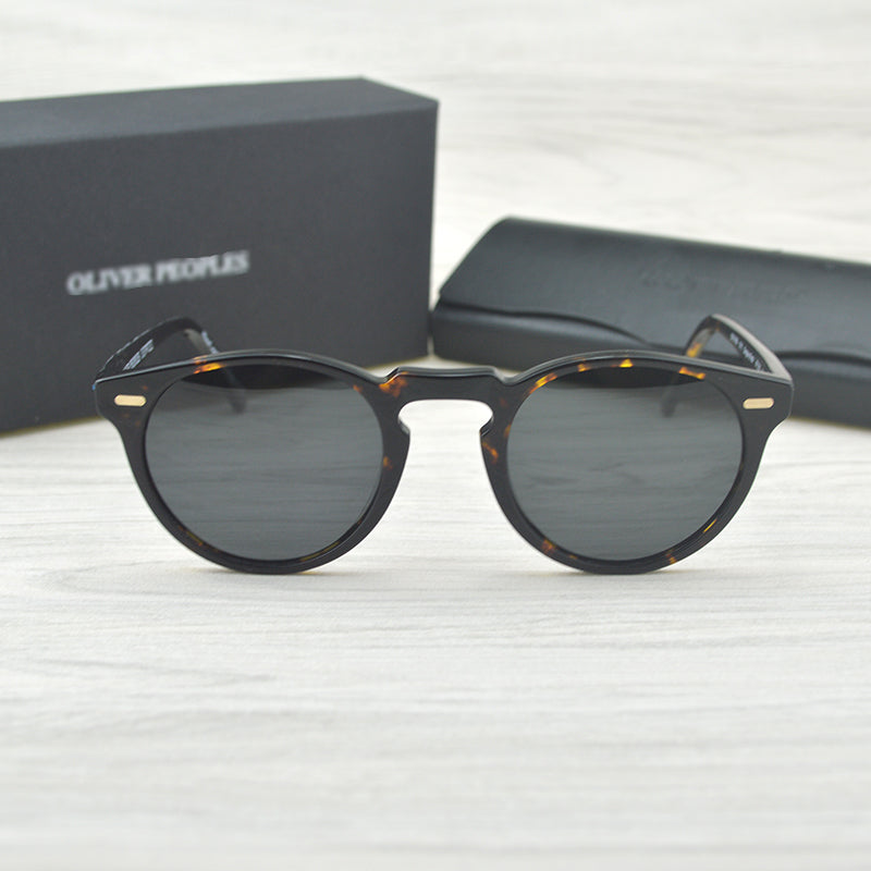 Gregory Peck  Brand Designer men women Sunglass Vintage Polarized oliver peoples sunglasses  OV5186 retro Sun glasses oculos