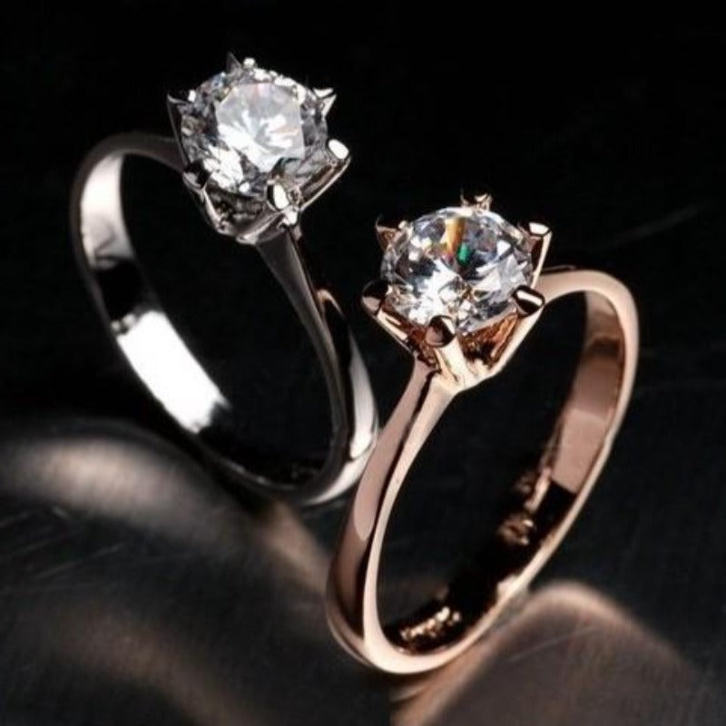 Brand TracysWing Genuine Austria Crystal  18KRGP gold Color Rings for Women