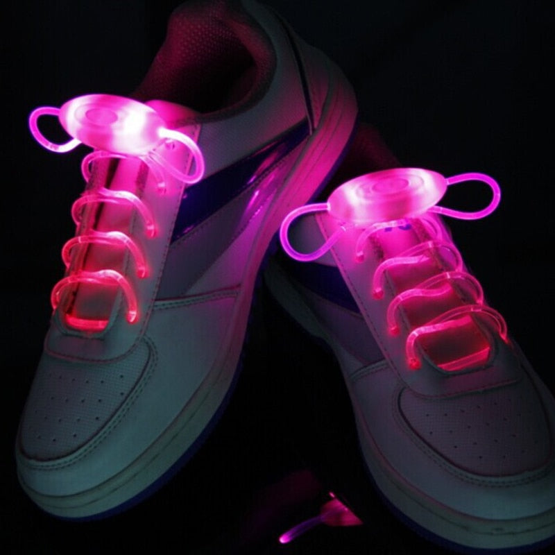 Oink LED Flash Light Up Shoelaces