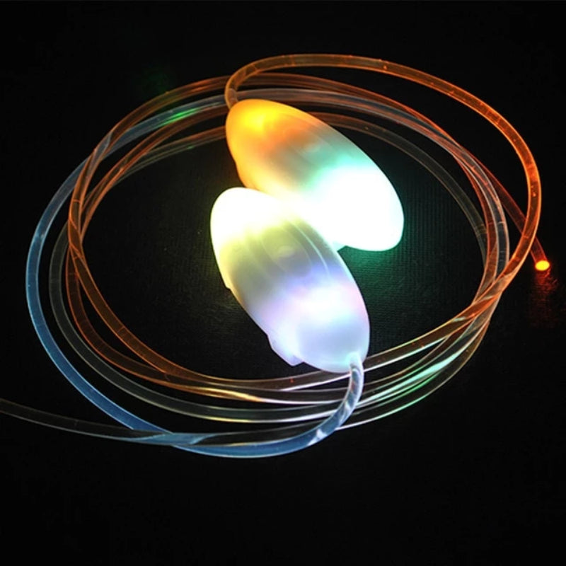 Rainbow LED Flash Light Up Shoelaces