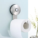 Suction Paper Holders Stainless steel Sucker Paper Roll Holder Toilet Paper Holder Tissue Holder Restroom Bathroom Accessories
