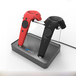 Controller wireless magnetic adsorption charging Double Charging Station For HTC VIVE / PRO VR Controller Double Handle Charging