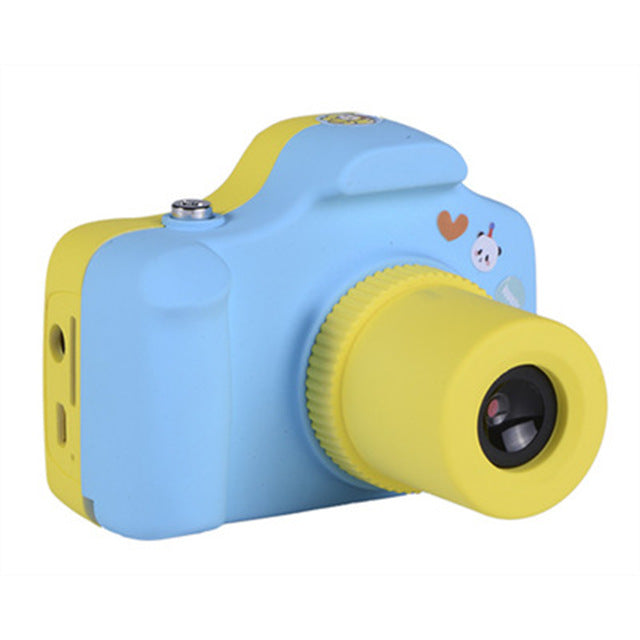 Colorful Cute Kids Children Digital Camera 1.0MP 1.5 inch Shoot LSR Cam For Baby Birthday Christmas Gift Support Micro SD/TF