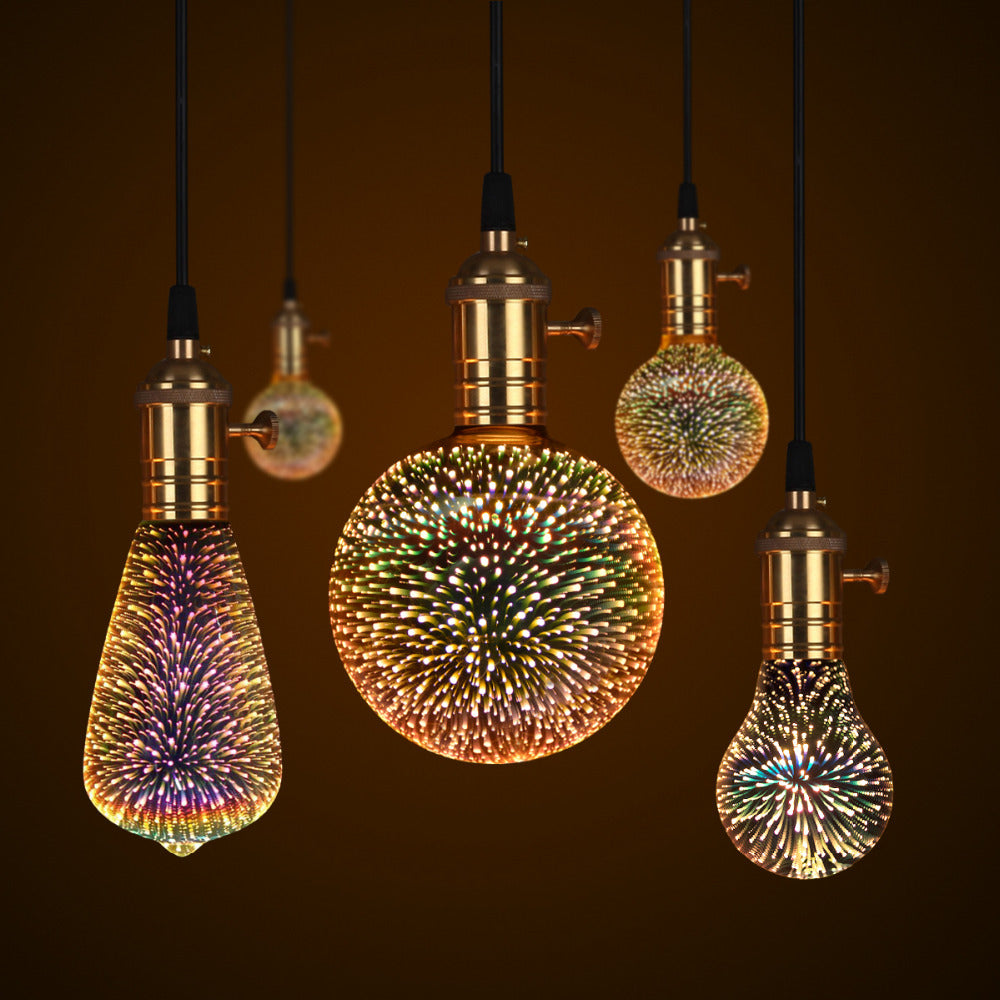 $36 off Decorative 3D Star Fireworks Effect LED Night Light Bulb Was: $51.99 Now: $15.99 Plus Free Shipping.