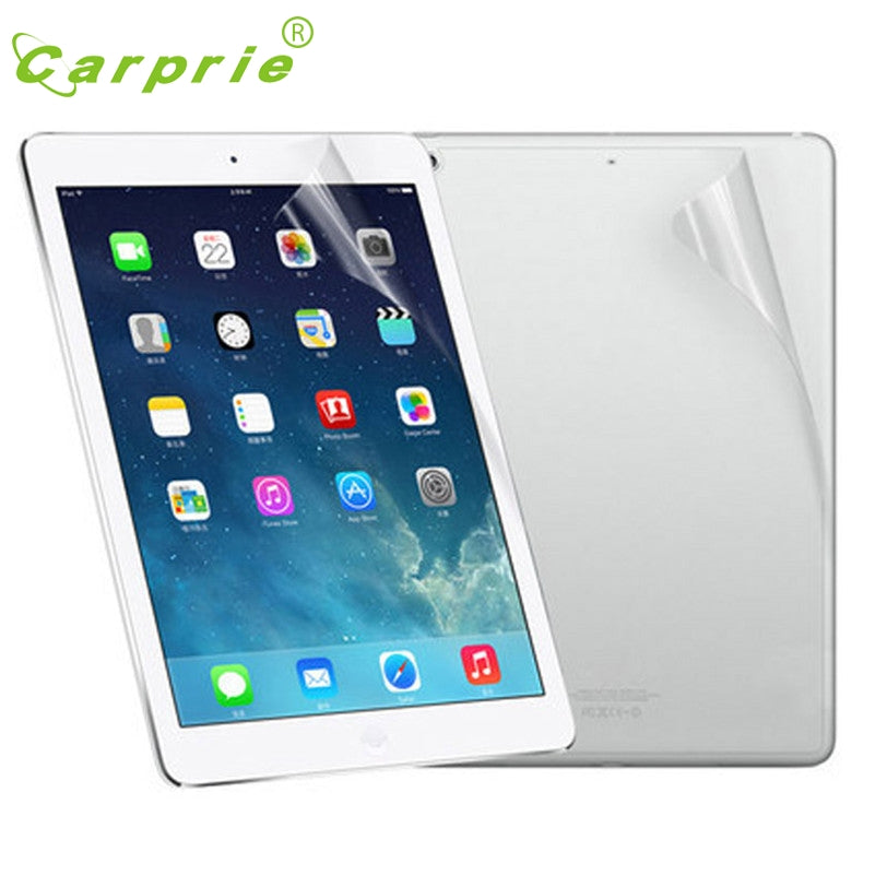 CARPRIE LCD Screen Protection For Ipad 2 For Ipad 3 For Ipad 4 Front And Back Clear Film Feb3