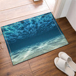 3D Seabed Design Home Bathroom Decor Fabric Shower Curtain Liner Bath Mat Set