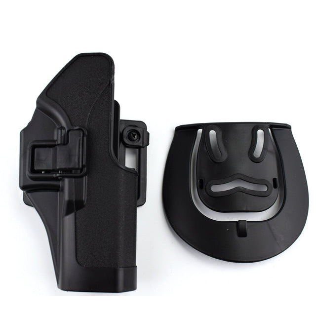 Tactical Glock 17 19 22 23 31 32 Airsoft Pistol Belt Holster Glock Pistol Accessories Gun Case Left / Right Hand