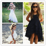 Girl's Sweet Casual Cotton Princess Dress