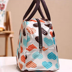 Good Quality Heart Lunch Tote Bag Cooler Box lunchbox bag Handbag