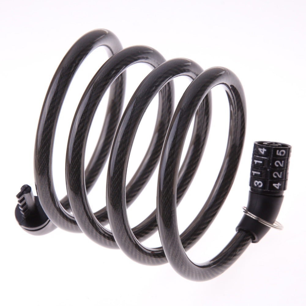 4-Digit Combination Cable Bike Lock