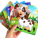 Wooden Puzzle Jigsaw Animal Puzzle