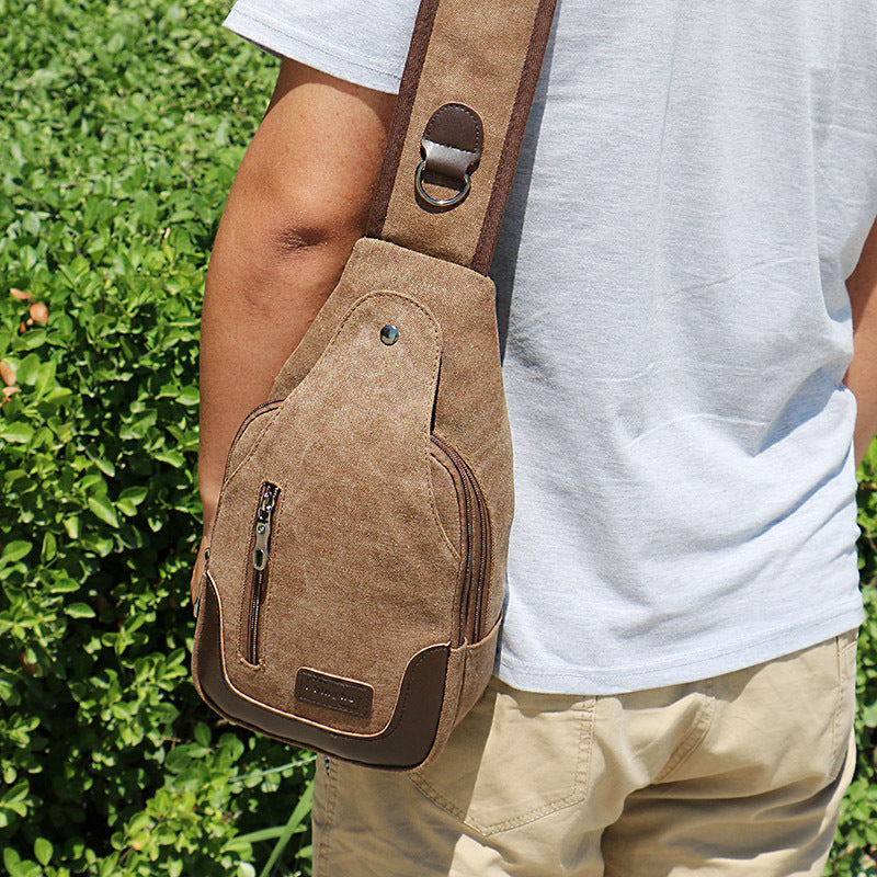 Anti-Theft Casual Crossbody Shoulder Backpack