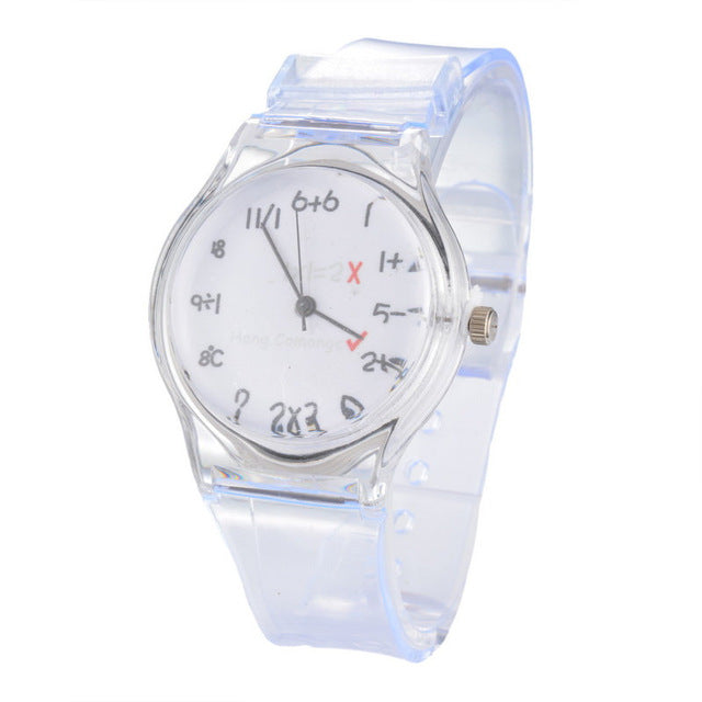 Women's Transparent Quartz Wrist Watch