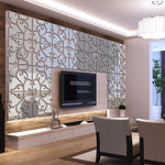 3D mirror Acrylic wall stickers