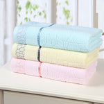 High Quality Textile Scale Pattern 100% Cotton Soft Bath Towels