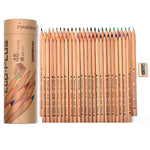 Wood Colored Pencils Sketching Drawing Set