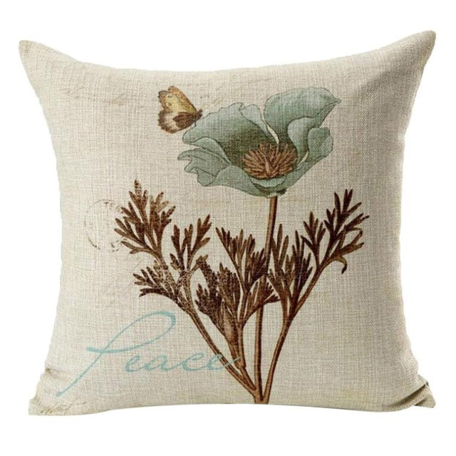 Cushion | Vintage | Cotton | Pillow | Retro | Decor | Cover | Sofa | Home | Case | New