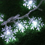 LED Snowflake Tree String Lights