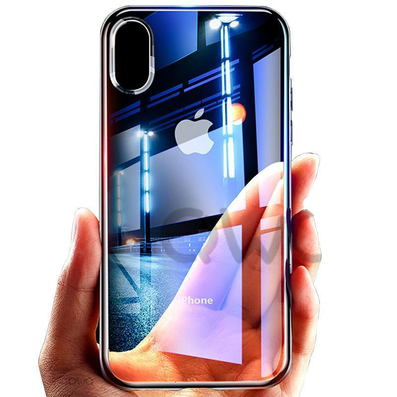 Transparent TPU Soft Silicone Shell Case