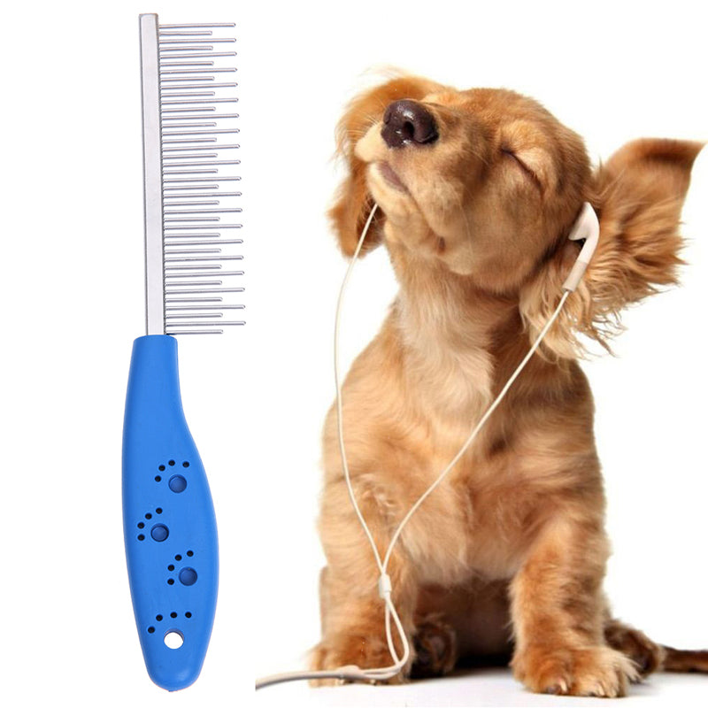 6 Colors Cute Pet Hair Grooming Comb Flea Shedding Brush Puppy Dog Cat Hair Removal Shedding Flea Clean Tool Pet Supplies