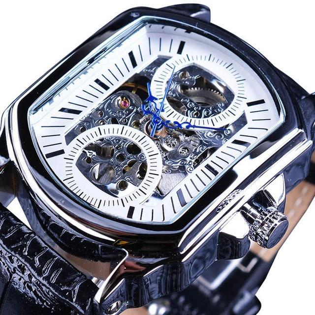 Men's Retro Classic Skeletal Luxury Wrist Watch