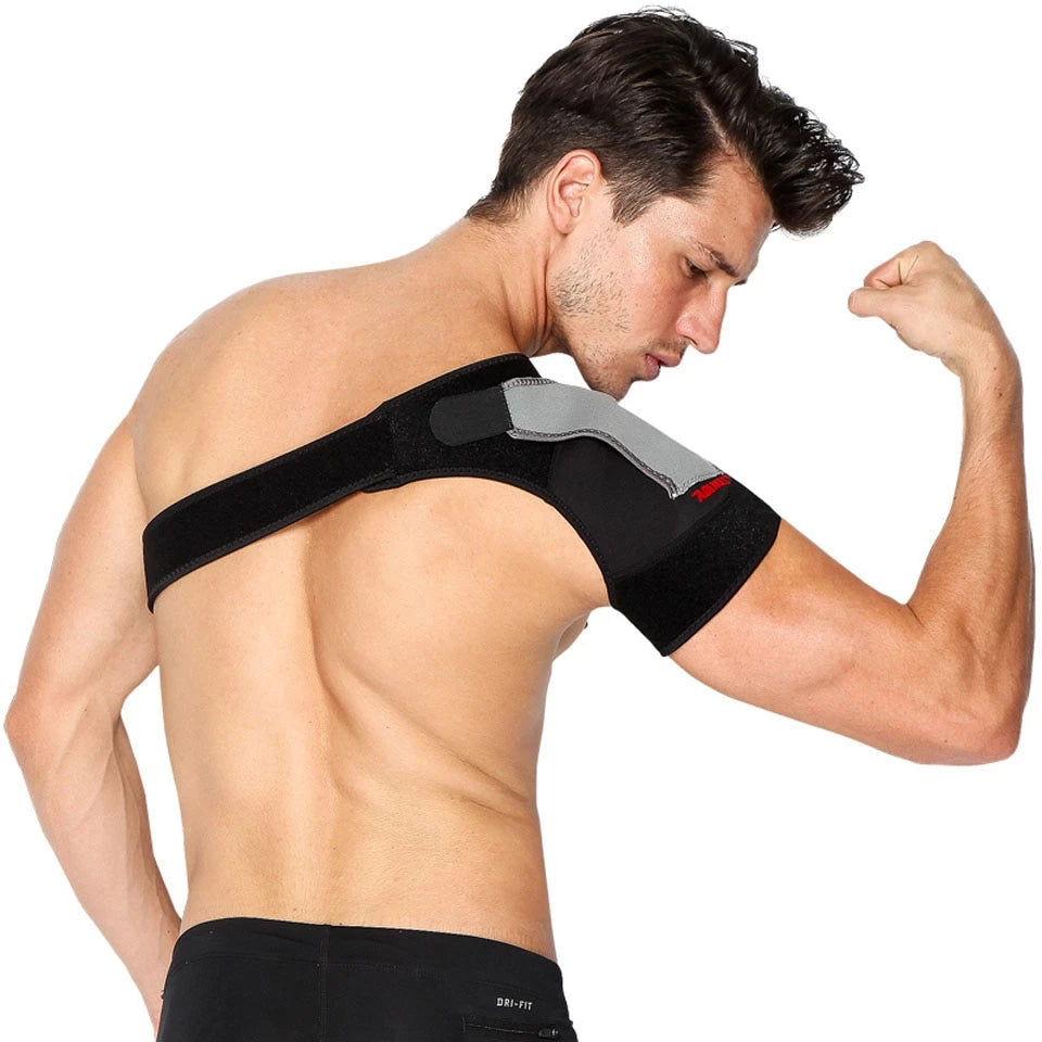 Adjustable Back Support Single Shoulder Strap