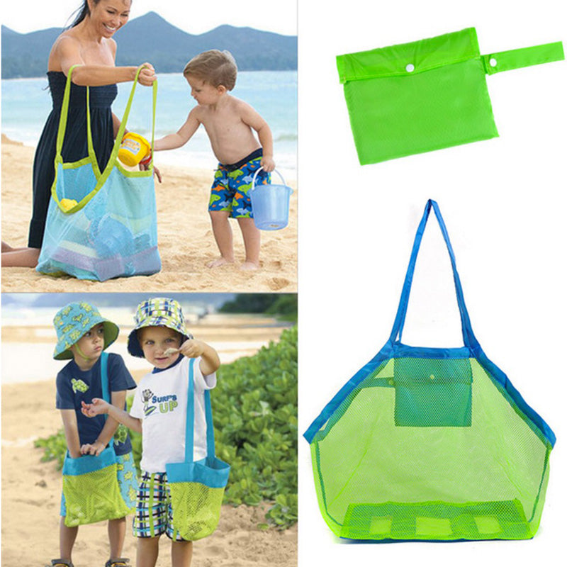 Baby Bath Toys Storage Mesh Bag Bath Room Beach Mesh Net Bag Besket Water Toys Storage Bag For Kids Outdoor Hanging Mesh Bag