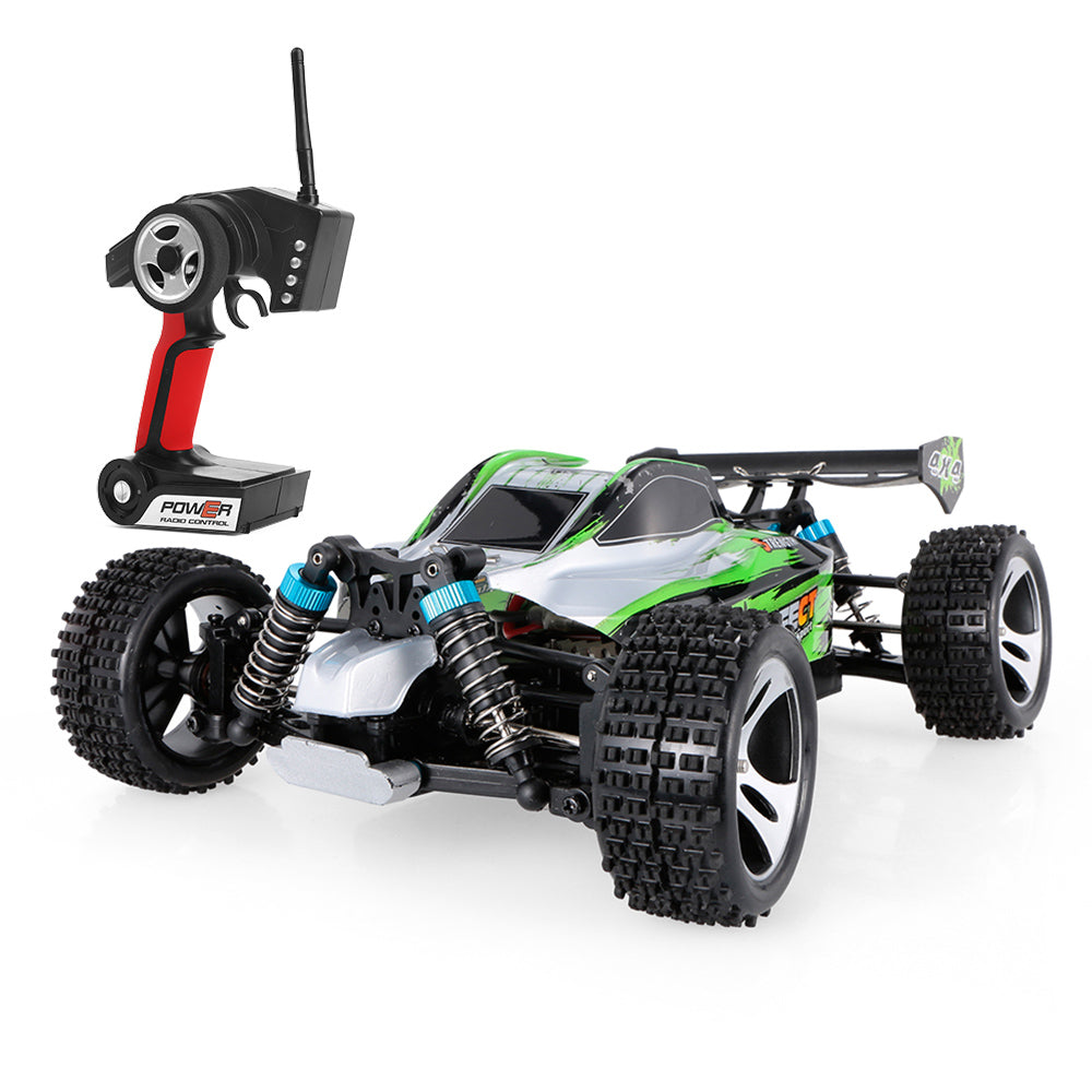 RC Car 1/18 Scale 2.4G 4WD Electric RTR Off-Road Buggy