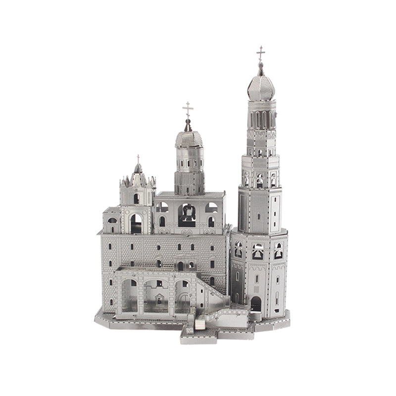 Ivan the Great Belltower 3D puzzle DIY Adult Metal Cutting Puzzle  Birthday Gift Intelligence Education