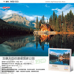 Tomax Mini500pcs the smallestf  jigsaw puzzles for adult  JAPAN Kinkakuji Temple JORDAN Petra FRANCE Mont St. Mchel