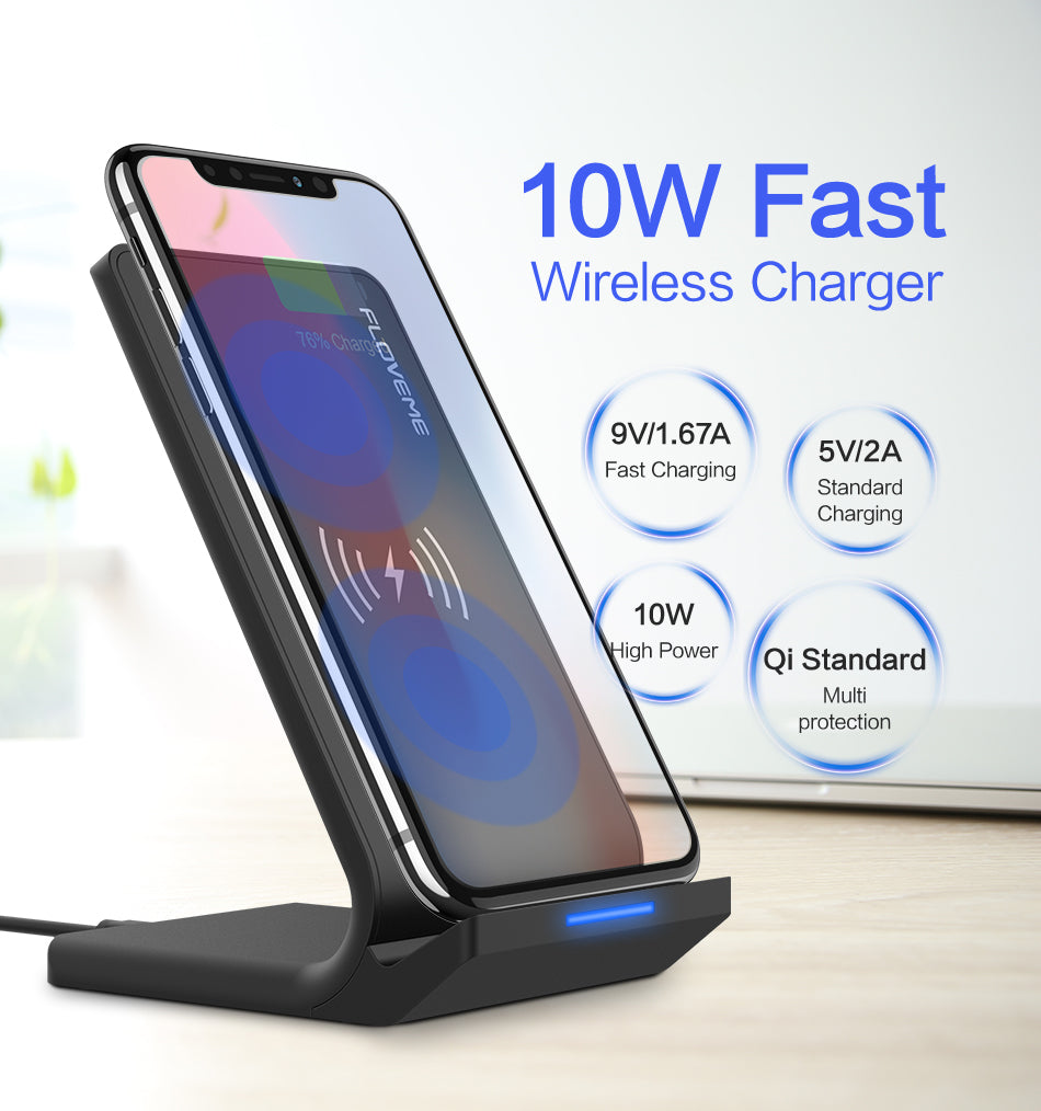 Wireless Charger Charging Dock with Stand for Smart Phones Was: $89.99 Now: $19.99 Plus Free Shipping.