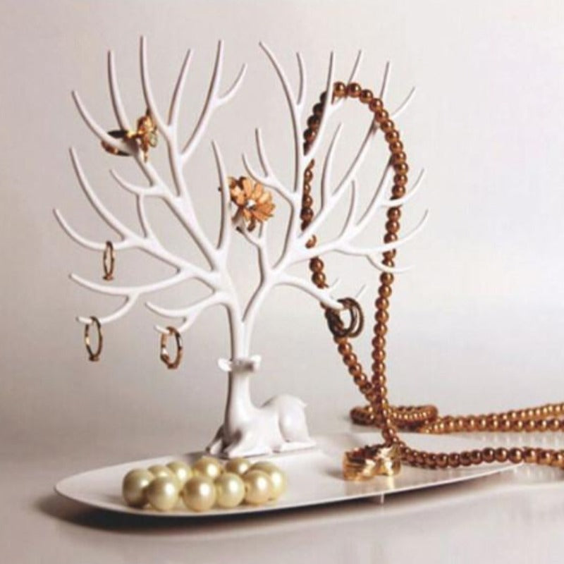 Tree Branch Shape Key Storage Rack