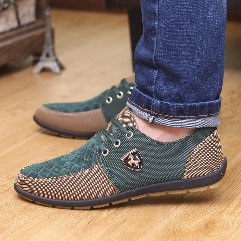 Men's High Fashion Breathable Canvas Sneakers