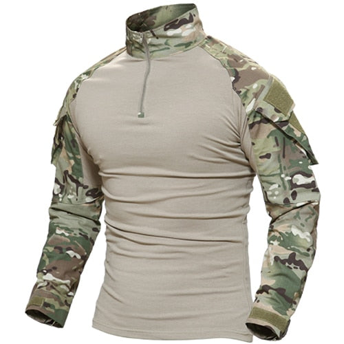 Men's Tactical Long Sleeve SWAT Combat T-Shirt