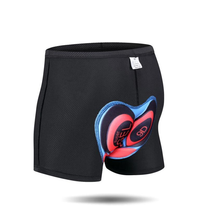 Unisex Comfort Cycling Shorts with 5D Soft Silica Gel Pad