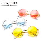 Classic Round Glasses Sunglasses Korean Version Retro Men's Women's Fashion Sunglass Blinders Lunettes De Soleil