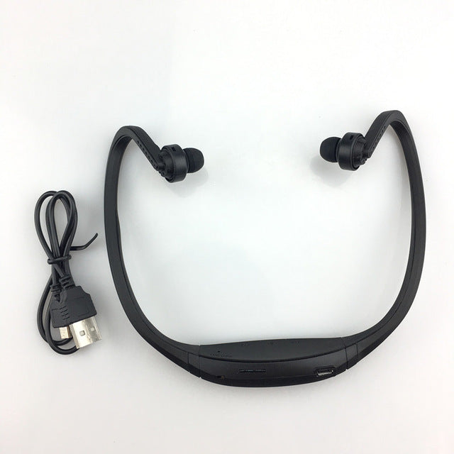 Sport Bluetooth Neckband Microphone Headphones