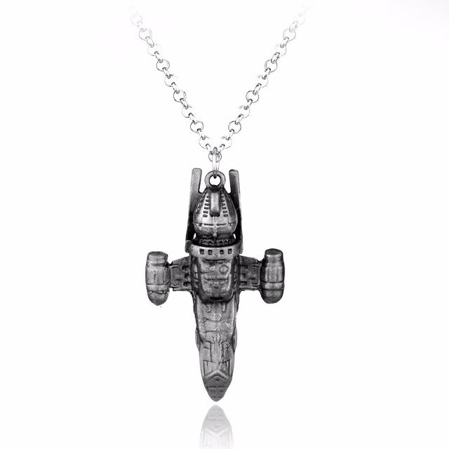 Silver Star Wars Stormtrooper Necklace Metal Darth Vader Helmet Necklaces Pendants